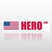 Hero 211 Street Sign