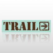 Trail 213 Street Sign
