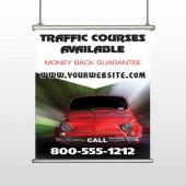 Car Traffic 153 Hanging Banner