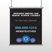 Traffic School 152 Hanging Banner