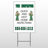 Inspector 361 Wire Frame Sign