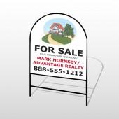 Dream Home 255 H-Frame Arch Sign