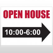 Open House 17 Custom Sign