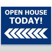 Open House 19 Custom Sign