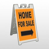 Home For Sale 34 A  Frame Sign